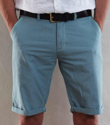 Green blue men's short